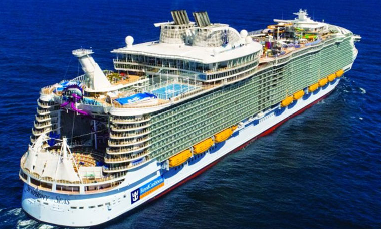 News) WORLD- Royal Caribbean launches largest cruise ship in the