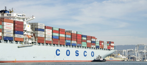 News) WORLD- China shipping lines COSCO hit by apparent
